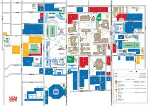 University Of Central Missouri Map.Ucm Campus Map University Of Central Missouri